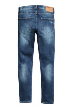 Skinny Low Trashed Jeans - Dark denim blue - Men | H&M 3